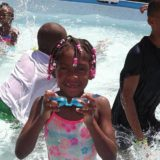 Summer camp swimming.